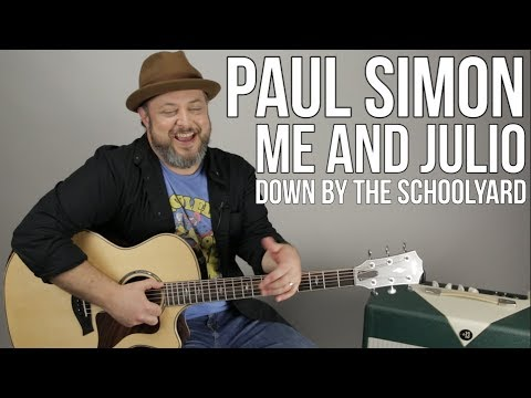 "How to Play ""Me and Julio Down by the Schoolyard"" on Guitar by Paul Simon"