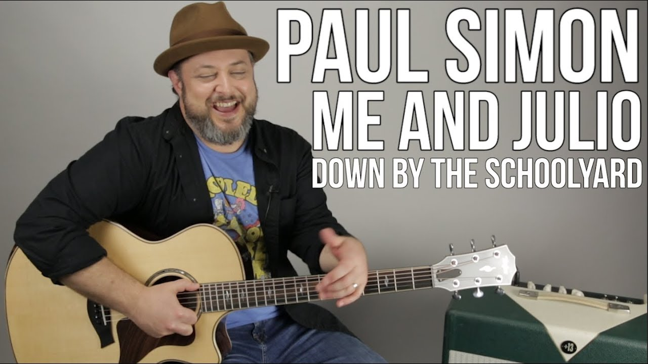 How To Play Me And Julio Down By The Schoolyard On Guitar By Paul