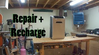 How to Repair and Recharge A Portable Air Conditioner