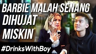 EXCLUSIVE! Barbie Kumalasari DISKAKMAT Boy! | #DrinksWithBoy Eps. 6