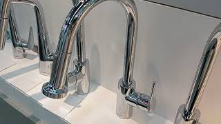 Hansgrohe 14870000 Talis S2 Variark kitchen faucet pull out spout