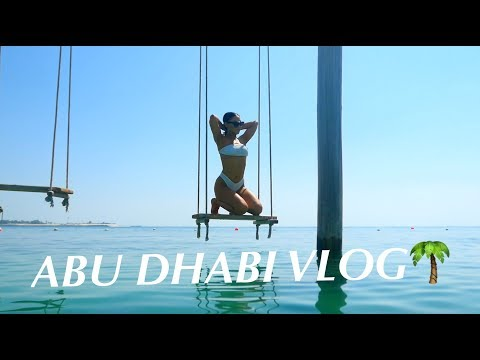 A WEEKEND IN ABU DHABI - MEET MY HUSBAND VLOG!