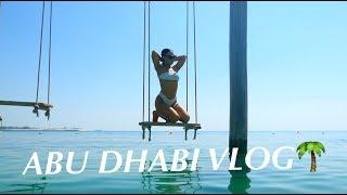 A WEEKEND IN ABU DHABI - MEET MY HUSBAND VLOG!