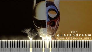 Cro - quarandream (Piano Tutorial + Noten)