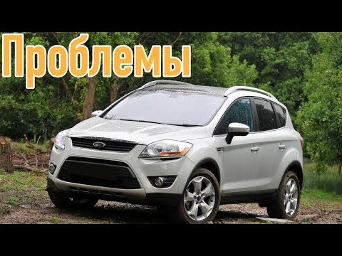 Форд Куга слабые места | Недостатки и болячки б/у Ford Kuga I