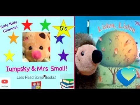 Listen, Listen-:-P. Gershator-:- Books Read to Kids Aloud  Outloud!