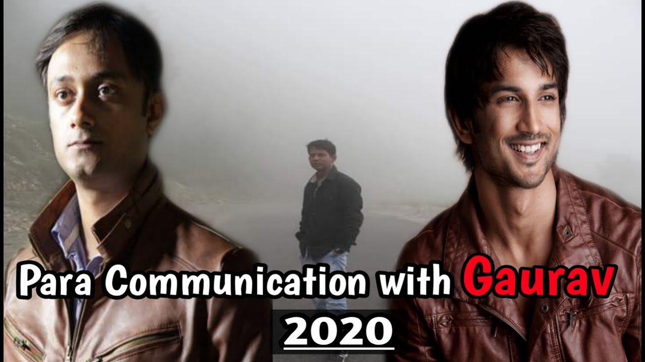 sushant   para  communication - with Gaurav Tiwari  on his birthday .clear  HINTS about Gang!!!!