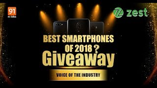 Best phone of the year 2018 Giveaway + Vouchers: 91mobiles award Voice of Industry [Hindi-हिन्दी]