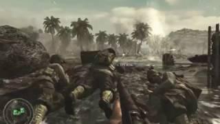 Вторая мировая война с Японией Call of Duty World at War