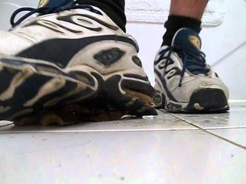 Trashed Nike Butane Pulverize Bamboo Log