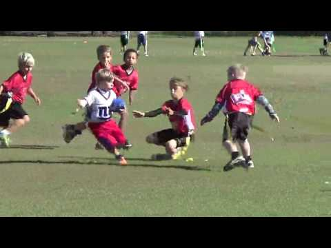 MUST WATCH!!!! Braden Sanders beast mode flag football