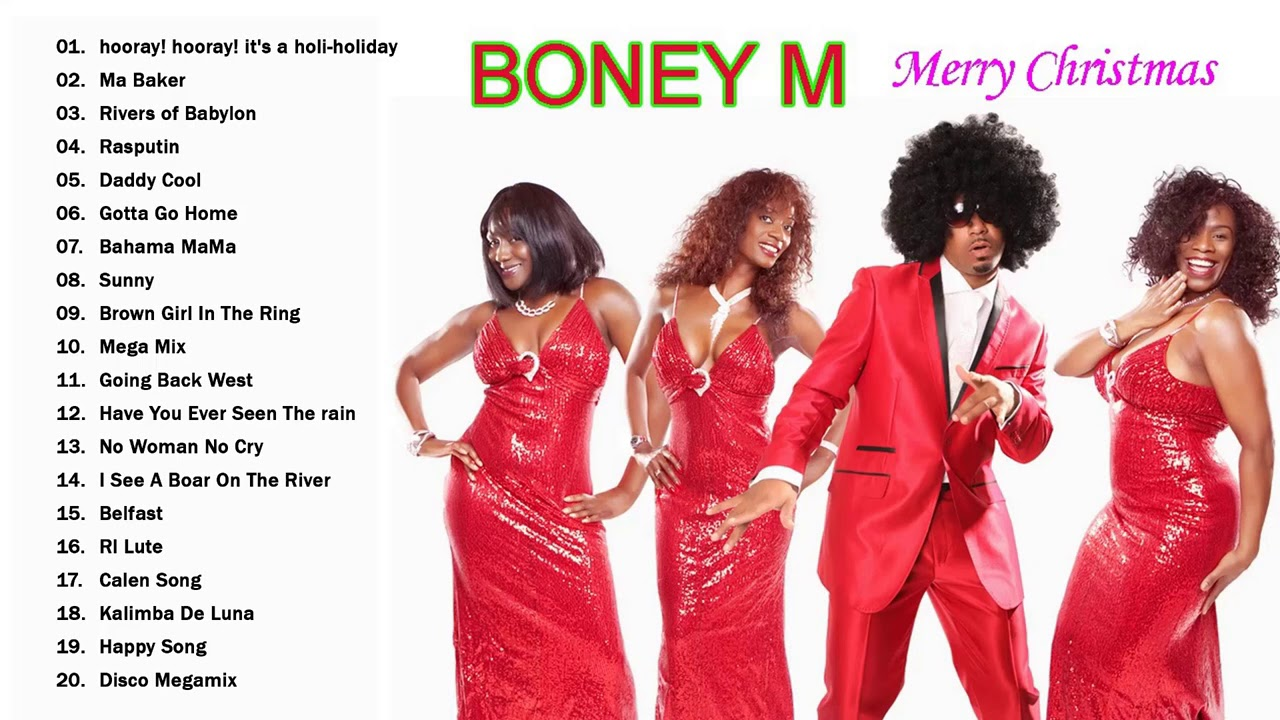 2021 Christmas Album Boney M Christmas Songs 2021 Boney M Christmas Album 2021 Best Christmas Songs Of Boney M Youtube