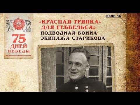 «Красная тряпка» для Геббельса: Подводная война экипажа Старикова