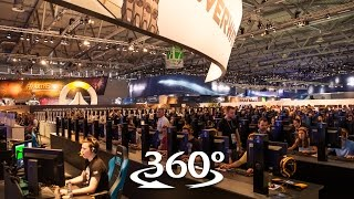 Blizzard at gamescom | 360° video | Booth tour