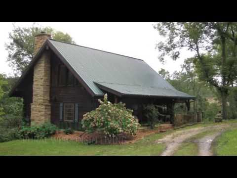 Enchanting Log Home Grant County WI Real Estate