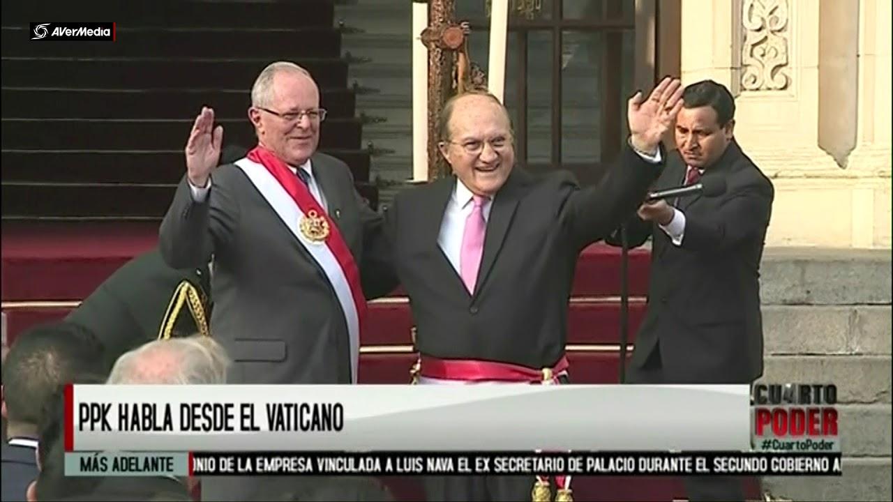 PPK sobre ministro D\'Alessio [Cuarto Poder] - YouTube