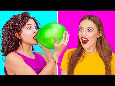 Verrückte HACKS und STREICHE mit BALLONS || Großartige Ballon-Hacks und DIY-Streiche