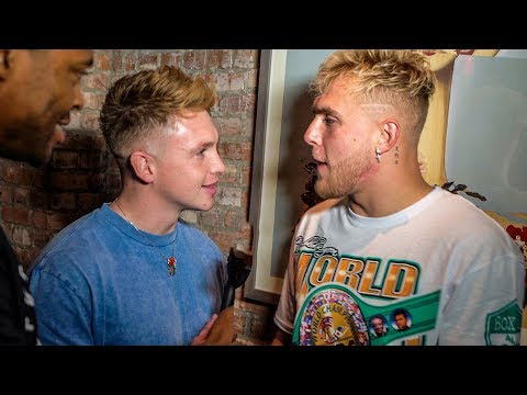 CONFRONTING JAKE PAUL