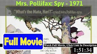 Mrs. Pollifax-Spy (1971) Full*Movie