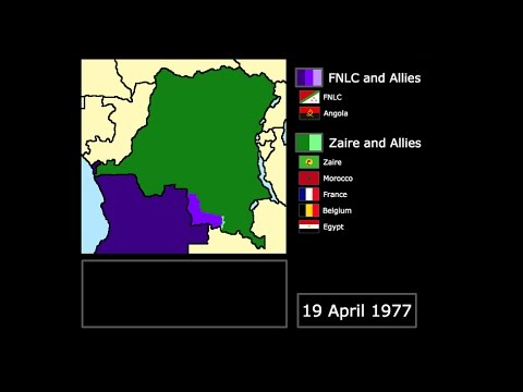 [Wars] The Shaba Invasions (1977-1978): Every Day
