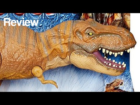 Jurassic World Stomp & Strike Tyrannosaurus Rex Toy Review