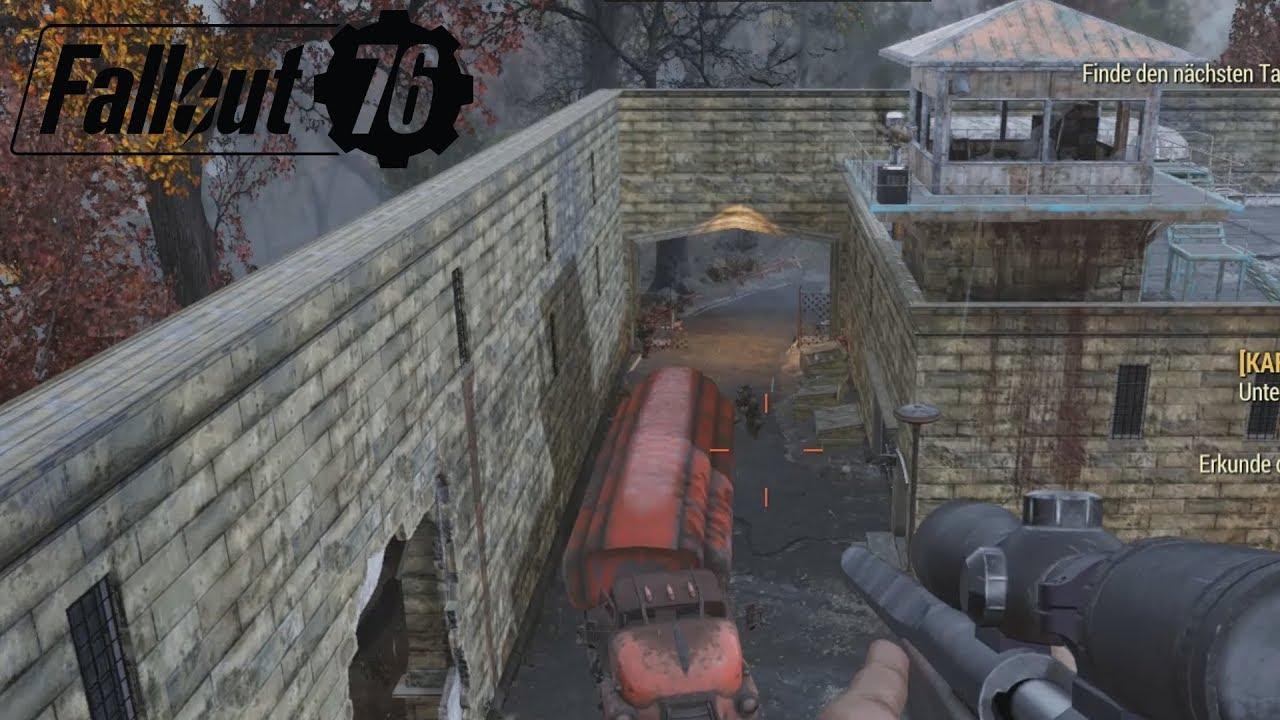 Fallout 76 Karte Deutsch.Fallout 76 Ab Ins Gefängnis Gameplay German Deutsch