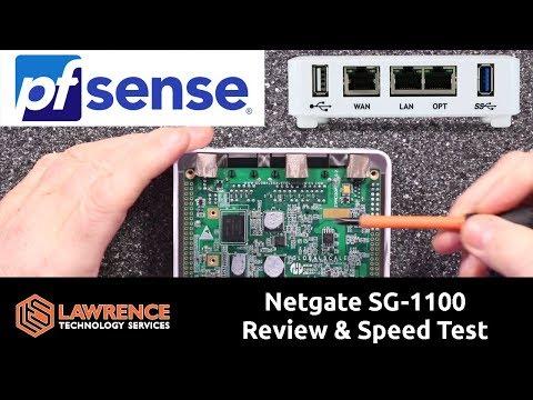 Netgate pfsense  SG 1100 Review & Speed Tests