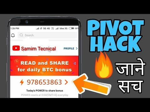 Pivot App Hack* Unlimeted trick !! Only One Mobile