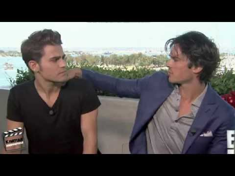 NEWS/ Paul Wesley & Ian Somerhalder