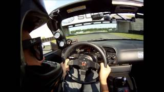 Supercharged s2000 track day