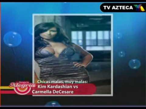 Chicas Malas Muy Malas - Kim Kardashian, y Carmella DeCesare