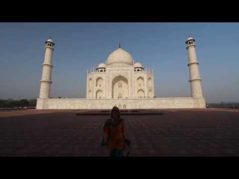 The Taj Mahal HD Travel Video