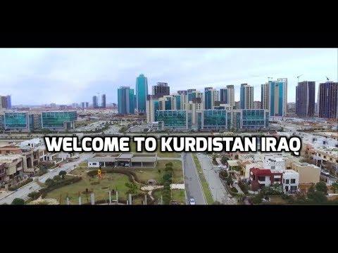 اربيل السليمانية دهوك تصوير جوي كردستان العراق - Kurdistan Iraq Erbil 2018 HD