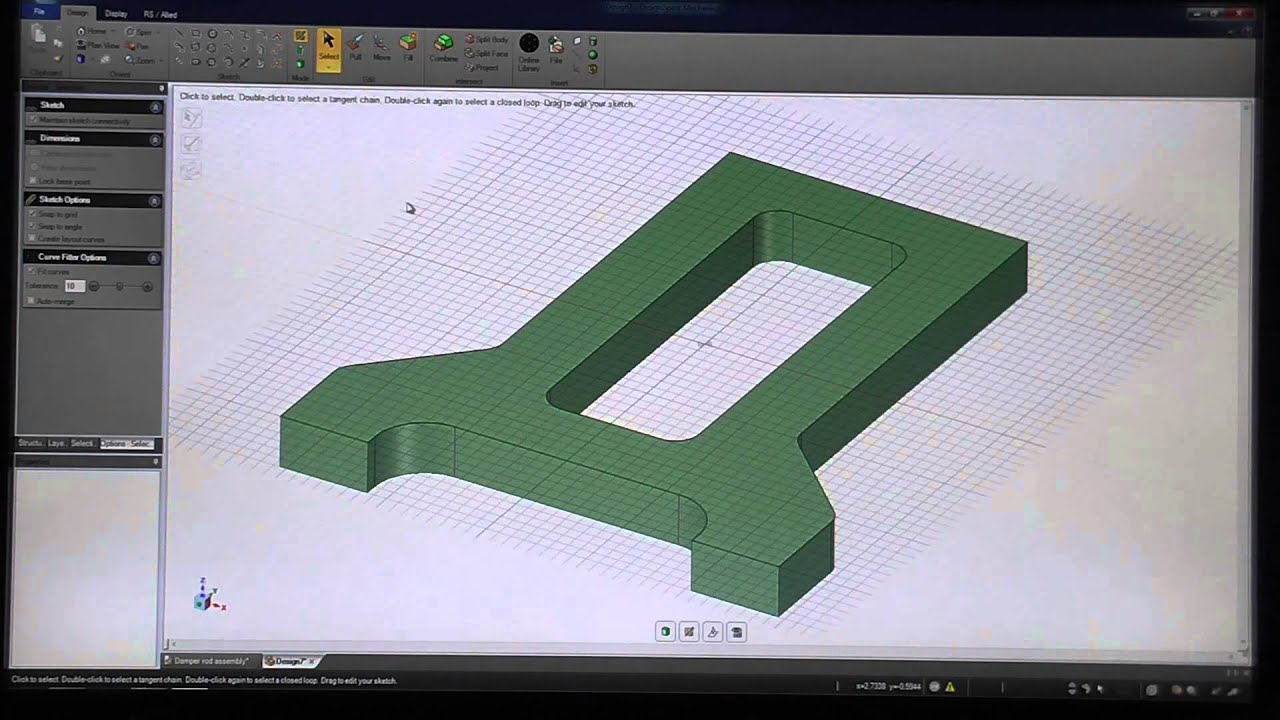 3d Cad Software Youtube