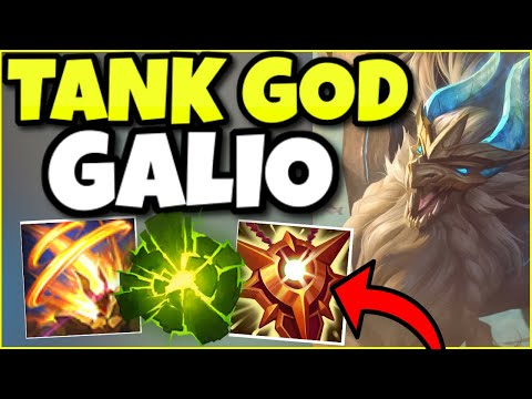 GALIO IS 100% UNKILLABLE AS A SUPPORT?! TANK GOD GALIO IS BROKEN (INSANE PLAYS) – League of Legends
