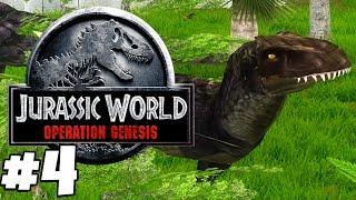 Jurassic Park: Operation Genesis | Gameplay Part 4 | EXCITED TITLE ABOUT BEING ONLINE