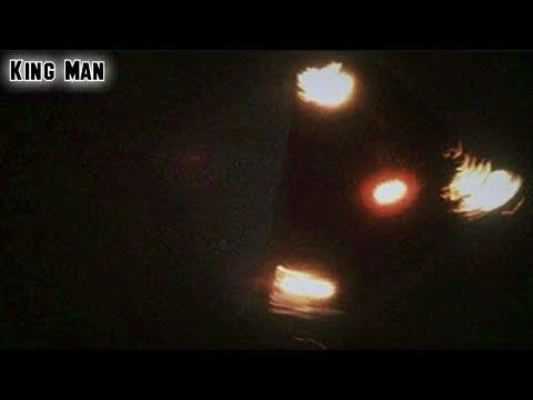 Ovnis en formación grabados con cámara infrarroja en los Angeles California