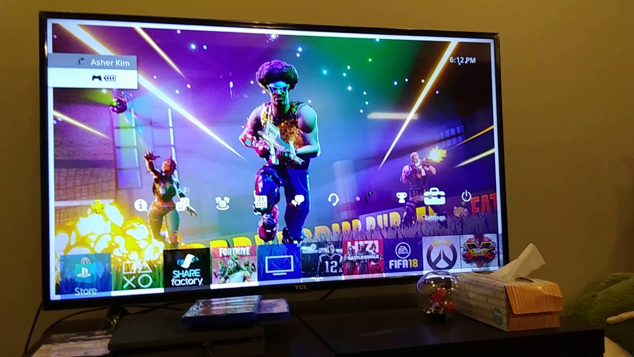 How To Get A Fortnite Wallpaper On Ps4 Watch Video