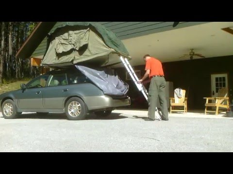 Mombasa Roof top tent time lapse setup & Mombasa Roof top tent time lapse setup - YouTube