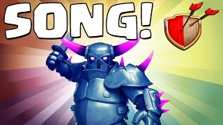 "Clash of Clans ""PEKKA SONG!"" Clash of Clans Track 10/10 New Album!"