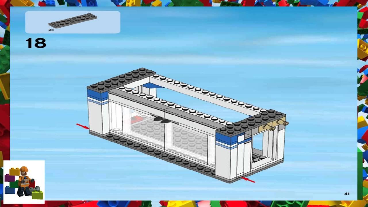 lego city square instructions