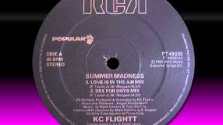 "KC FLIGHTT  ""Summer Madness""  1989"