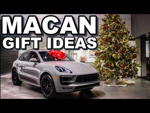 GIFT IDEAS TO GIVE PORSCHE MACAN OWNERS for Birthdays or Holidays