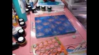 Gelli Arts printing plate fun