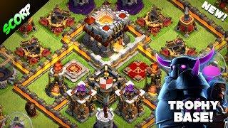 Clash Of Clans - TH11 TROPHY BASE/ LEGEND LEAGUE/ REPLAYS