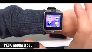 Relógio Smart Android / Relógio Inteligente Smartwatch HD X7 Bluetooth Chip e Cartão Lançamento 2020