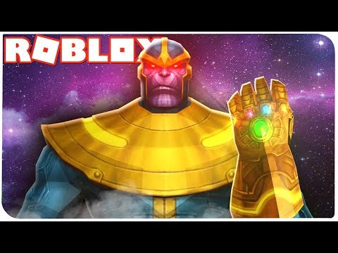 Roblox: СИМУЛЯТОР *ЩЕЛЧКА* ТАНОСА!