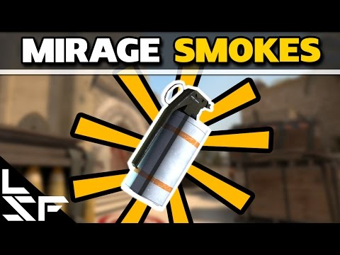 MUST KNOW MIRAGE SMOKES - CS:GO Smoke Tutorial