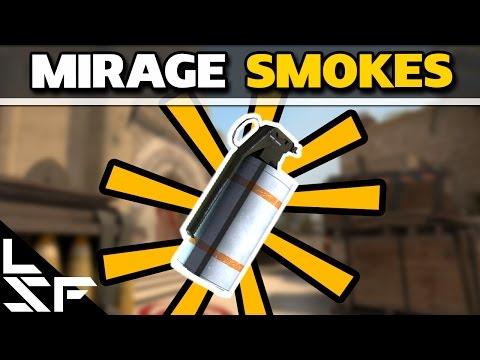 MUST KNOW MIRAGE SMOKES - CS:GO Smoke Tutorial