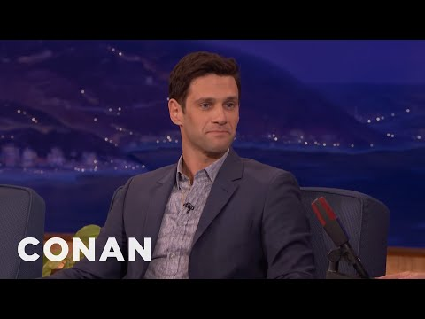 "Justin Bartha's 2YearOld Daughter Watches ""The Simpsons""   CONAN on TBS"